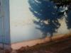 Odstránenie graffiti zplochy ošetrenej antigraffiti Žilina