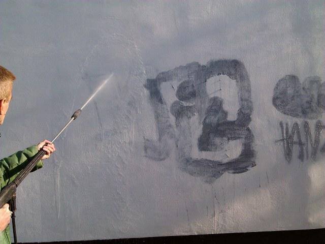Odstránenie čistenie graffiti Žilina